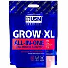 USN Grow-XL All-In-One Protein Anabolic Lean Mass 4kg  FREE POSTAGE+ SAMPLES