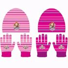 Disney Junior Sofia the First Beanie Hat and Gloves Set 4 - 8 Years