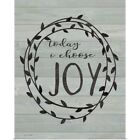Poster Print Wall Art entitled Choose Joy