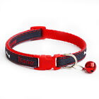 Adjustable Pet Cat  Tie Collar Safety Dog Puppy Colar Necklace with Bell