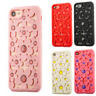 Protective Case Flower Pattern Soft Silicone Back Cover for iPhone 6 7 S Plus