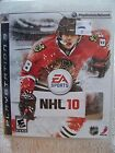NHL 10 For PlayStation 3 PS3 Hockey 1E