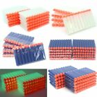 1000pcs NERF Toy Guns Refill Darts Bullets Soft Round Head Blasters 7.2cm 5Color