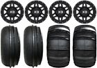 "KMC XS128 Machete 14"" ATV Wheels 28"" Sand Stripper/HP Tires Yamaha Grizzly Rhino"