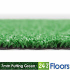 Artificial Grass, Quality Astro Turf, Cheap, Garden 7mm Putting Green Golf