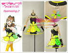Lovelive!Aqours Kunikida Hana Video Game Awakening Dress Cosplay Costume Custom