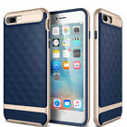 For iPhone 6S 7 8 Plus Case Slim Shockproof Hybrid Hard Bumper Soft Rubber Cover