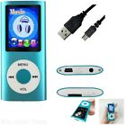 64 Gb Mp3 Mp4 Player Digital Compact Portable Photo Viewer Voice Recorder Fm Sd