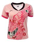 Внешний вид - Mexico Women Fan Jersey Exclusive Design Pink Color100% Polyester_Made in Mexico