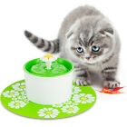 Flower  Sytle  Automatic Electric 1.6 L Pet Water Fountain Dog/Cat Drinking Bowl