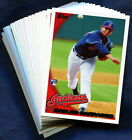 2010 Topps Cleveland Indians Baseball Card Your Choice - You Pick
