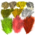FINE BLACK BARRED MARABOU - Hareline Jig & Fly Tying Feathers in 10+ Colors NEW!