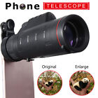 UK Universal 35X50 HD Clip-on Optical Zoom Telescope Camera Lens Phone Telephoto