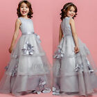 Flower Girl Princess Dress Kid Party Pageant Formal Gown Wedding Tutu Dresses