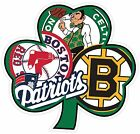 Kyпить Boston Irish Sport Teams Fan Logo Mash Up Vinyl Sticker Decal  на еВаy.соm