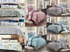 3PC LUXURY SUPER SOFT DUVET COVER SET FOR COMFORTER BED FLORAL PATTERN COVERLET