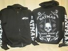 Batman Hoodie Sweatshirt Dark Knight Movie Comic Book TV Show New E74 XL Only