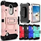 Outer Box  Kickstand Holster Clip Cover Case For LG Aristo / Fortune / Rebel 2
