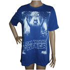 STAR WARS  MENS TOP SIZE S BLUE SHORT SLEEVE I AM YOUR FATHER DARTH VADER T-SHIR $18.0 AUD