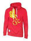MENS Official LIVERPOOL FC OTH Graphic Hooded Top S M XL Hoodie Red Football