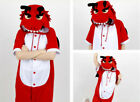 Hot Unisex Adult Pajamas Kigurumi Cosplay Costume Animal Ones i Sleepwear Suit