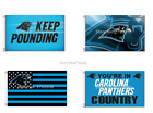 NEW! Carolina Panthers Flag 3x5ft Mancave Outdoor Indoor Cam Over 50+ Styles fan