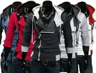 Fashion Stylish Creed Hoodie Cool Slim mens Jacket For Assassins Cosplay Costume