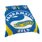 Parramatta Eels Quilt Cover Set Sizes Single, Double, Queen & King Doona 2017