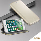 Luxury Slim Magnetic Leather Wallet Flip Case Cover For Apple Samsung Sony Phone