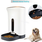 Smart Automatic Pet Feeder for Dog & Cat, Remote Control by Iphone Android