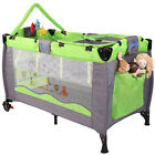 Portable Baby Child Bed Travel Cot Playpen Children Foldable with Carry Bag