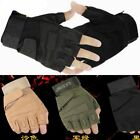 Half-finger Tactical Gloves Outdoor Military Army SWAT Police Hunting Combat