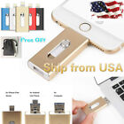 USA 128GB New OTG Dual USB Memory i Flash Drive U Disk For IOS iPhone iPad PC