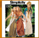 Simplicity Renaissance Early American Victorian Costumes Patterns Men Women Kids