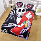 3D Bedding set The Nightmare Before Christmas Jack and Sally Duvet Cover Set US