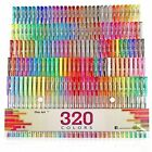 160 Gel Pens Color Set + Refills Adult Drawing Painting Book Marker Art Bags