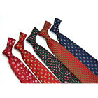 2PCS Christmas Tie 8.5cm Style Men  Fashion Neckties Helloween Festival Tie Soft