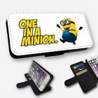 ONE IN A MILLION MINION - FLIP PHONE CASE COVER WALLET CARD HOLDER (N)