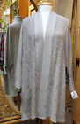 Dairi Moroccan Jacket Open Front Over-Stitched Lapels and Cuffs One Size #776