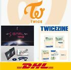 TWICE SIGNAL MONOGRAPH+TWICEZINE JEJU ISLAND DVD+PhotoBook +photo card+Express