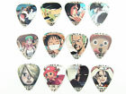 Japanese Anime One Piece Acoustic Electric Guitar Picks Plectrums 0.46/0.71/1mm