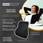 Highliving®Memory Foam Lumbar Back Support Cushion Home Car Auto Office Seat