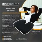 Highliving®Memory Freedom Wedge Cushion Great for Coccyx Relief, Lumbar Support,