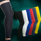 Sports Leg Calf Support Stretch Sleeve Compression Socks Running Basketball New