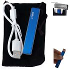 Bolt Lighter USB Rechargeable Windproof Coil Slim Cigarette Lighter With Cable
