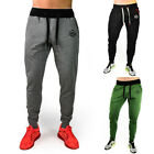 Mens Muscle Brother Slim Fit Pants Leisure Bodybuilding Workout Jogging Trousers