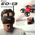 Eachine E013 Micro FPV Racing Quadcopter 1000TVL 40CH Camera VR006 Goggles UK*