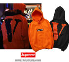 Men VLONE Supreme hooded fleece Costume Hoodie Coat Sweats Sweatshirt Hoodies