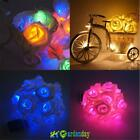 20 LED Rose Flower Fairy String Lights Wedding Party Christmas Decoration Decor