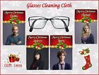PERSONALISED GLASS/SPECTACLES CLEANING CLOTH CHRISTMAS CRIMINAL MINDS